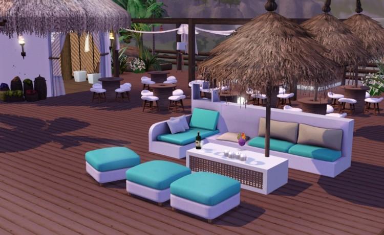Διακόσμηση και ανακαίνιση καφέ μπαρ , -beach bar