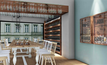 wine bar design