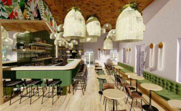 Διακόσμηση και Ανακαίνιση καφέ μπαρ