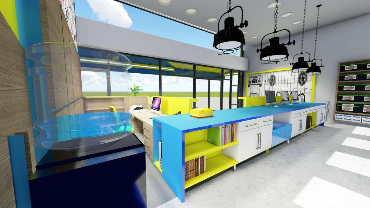Ανακαίνιση και Διακόσμηση γραφείων εταιρείας αυτοκινήτων