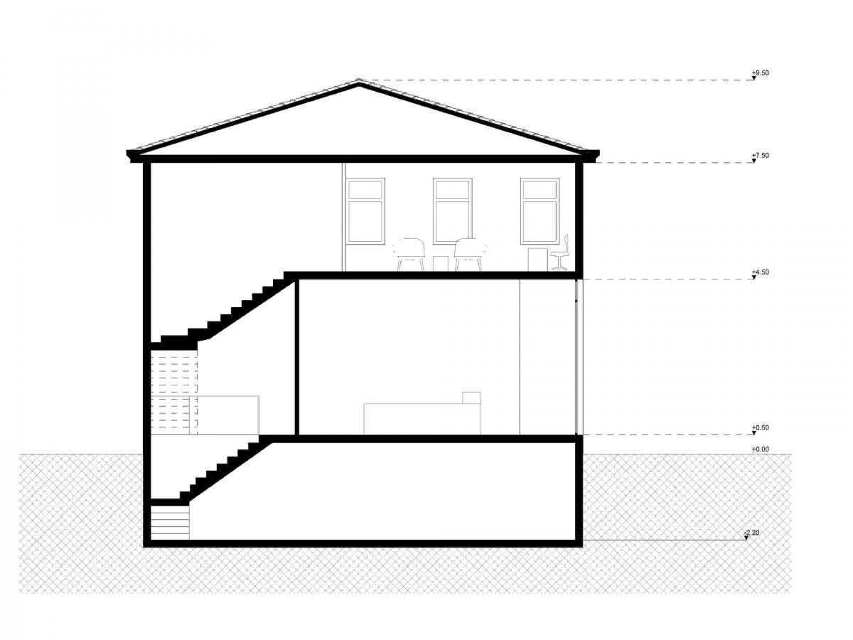 Tομή  Κτιρίου