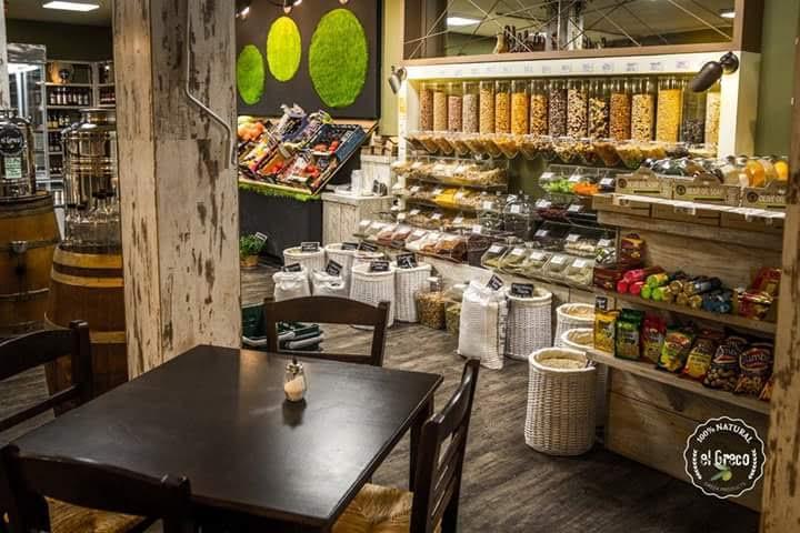 delicatessen interior design Διακόσμηση χώρου εστίασης