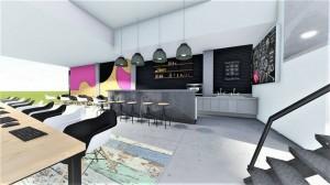 internet cafe, lounge cafe, playroom diakosmisi, sxediasmos, anakainisi